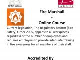 Fire Marshall – Online Course