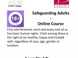 Safeguarding Adults – Online Course